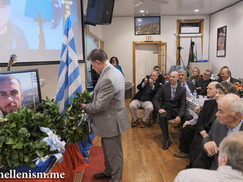 Εκδήλωση Τιμής για τον Ήρωα Κατσίφα με επεισόδια Αλβανών